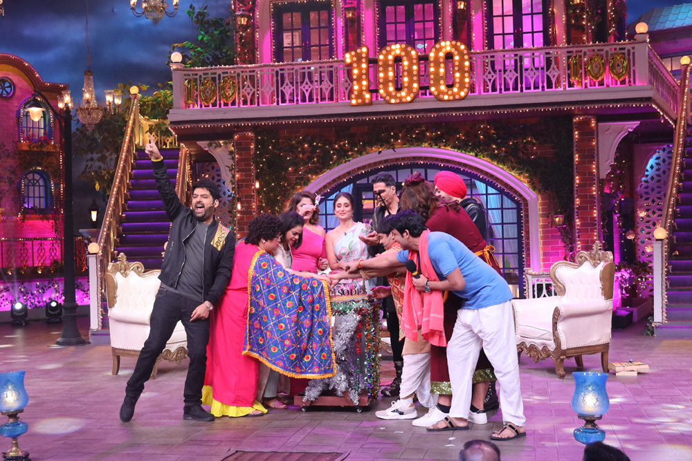 100 episode of the kapil sharma show